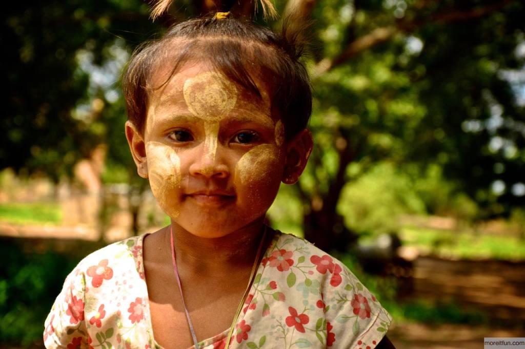 ミャンマーのタナカ