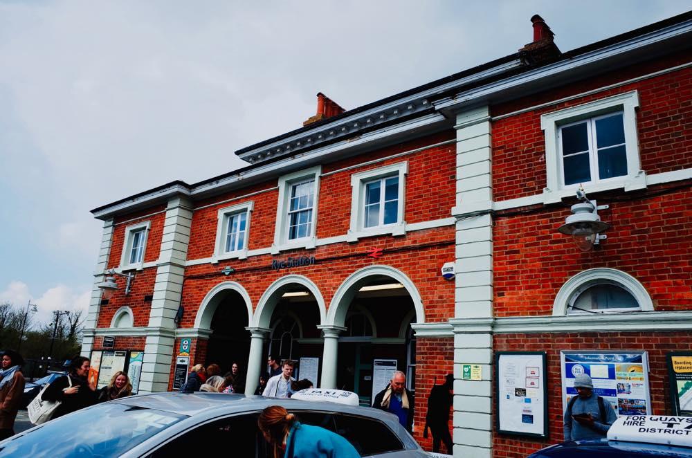 イギリス・ライの駅舎