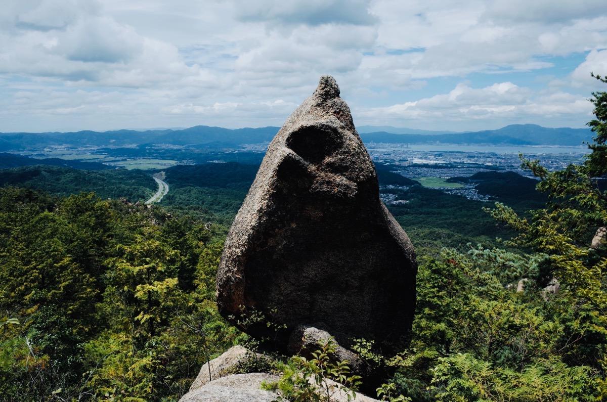 金勝アルプスの岩