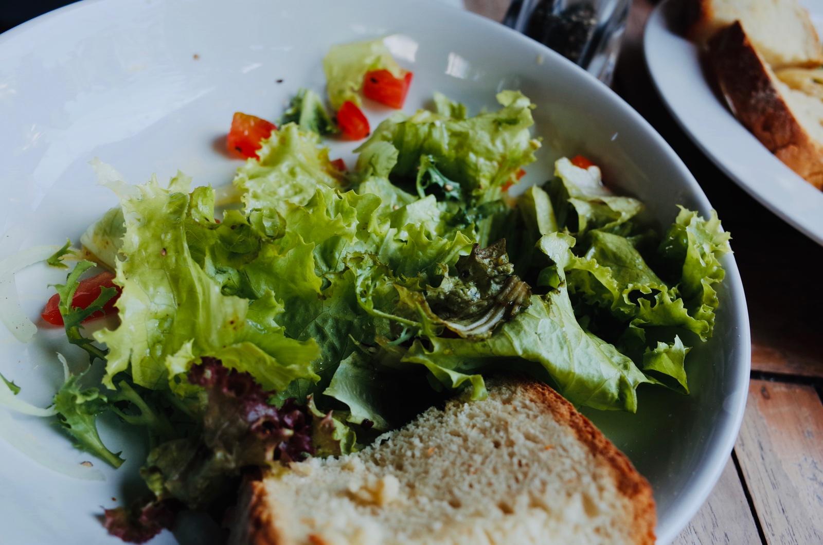 ヌサドゥアのサラダ