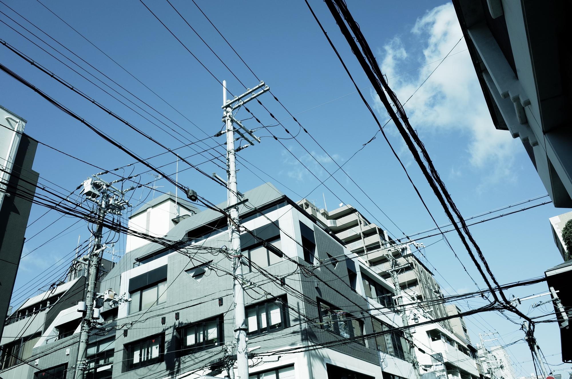 京都の青空