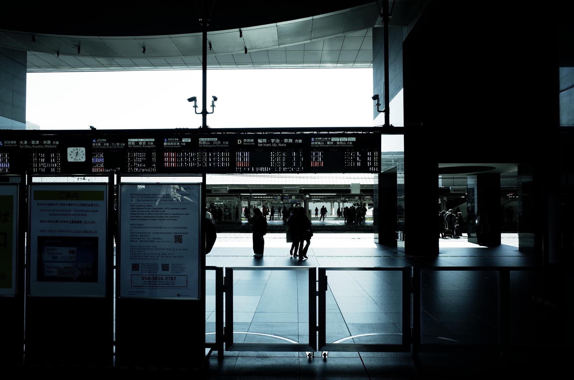 京都駅の中央改札