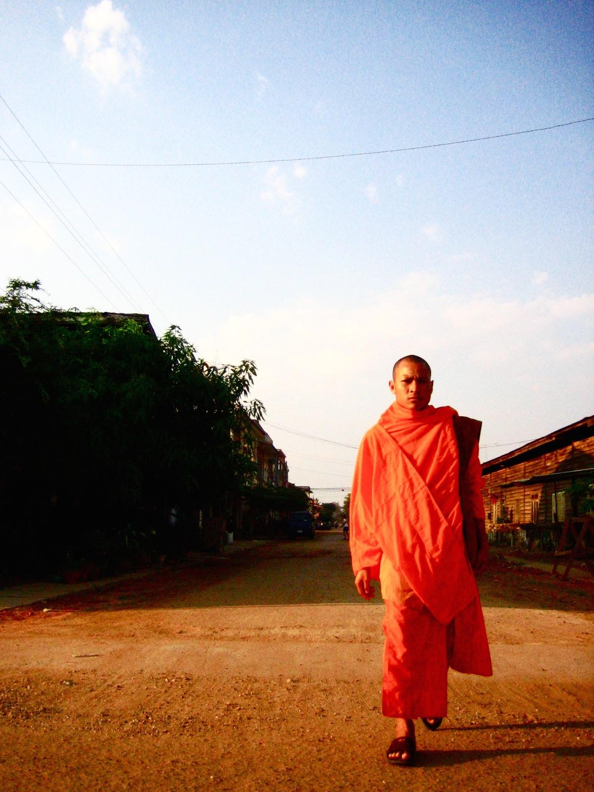 サバナケットでの僧侶